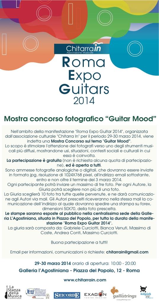 Mostra concorso fotografico Guitar Mood