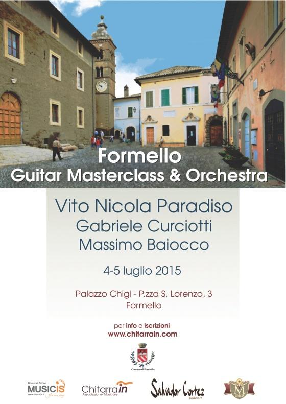 Formello Guitar FestivaMasterclass & Orchestra
